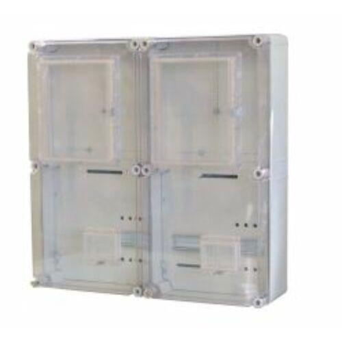 PVT EON 6060 Á-V Fm-AM alsó maszkos 600x600 2x 1Fv 3F + vezérelt mérőóra szekrény