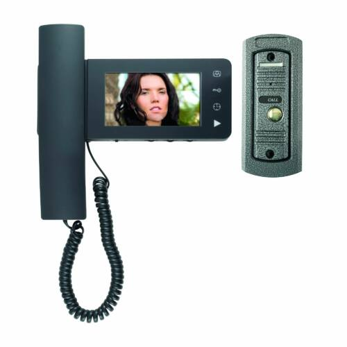 """Video kaputelefon szett 1 lakásos 4"""" szines beltéri DPV24"""
