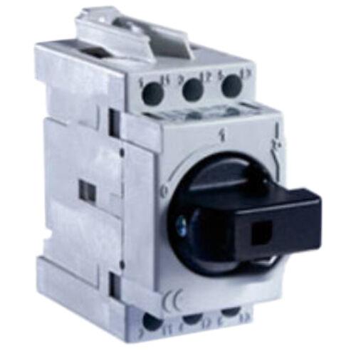 Forgócsapos sinre pattintható 3P 25A főkapcsoló (Technoelectric)