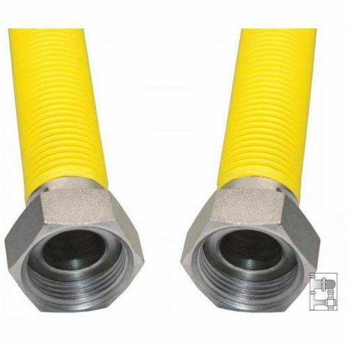 Flexibilis bordáscső gázra 1/2*-1/2* BB 30-60