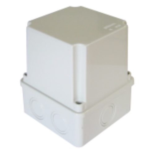 TRACON MD151114 150x110x140 sima oldalú IP56 magasított Kötődoboz