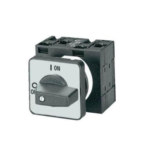 Ipari kézikapcsoló beépíthető 3P 32A BE-KI Moeller Eaton P1-32/E