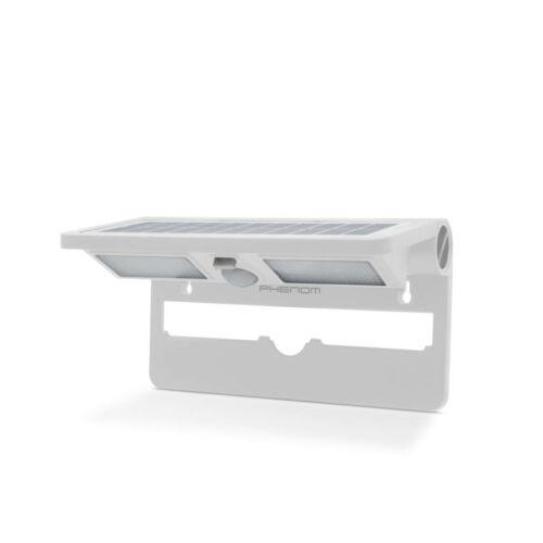 LED szolár reflektor+mozgás érzékelő, fehér (55270WH)