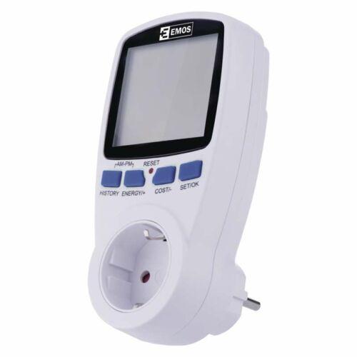 Fogyasztásmérő dugaljba dugható, digitális P5821