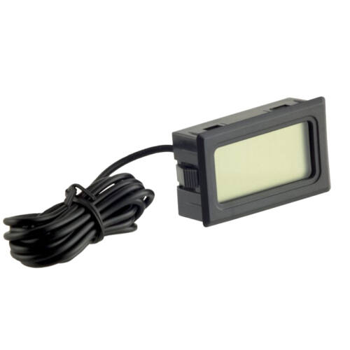 Digitális hőmérő TPM-10 fekete