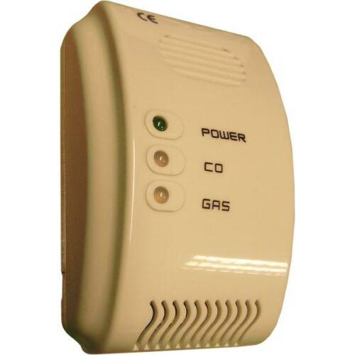 Gáz- és Szén-monoxid (CO) érzékelő és riasztó BRH-800 230 85318080