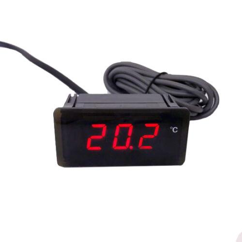 Digitális hőmérő TPM-910/12 V ( -30°C - +110°C-ig ) 12 V