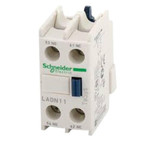 Segédérintkező blokk homloklapi SCHNEIDER ELECTRIC LADN11 1Z+1NY csavaros csatl.