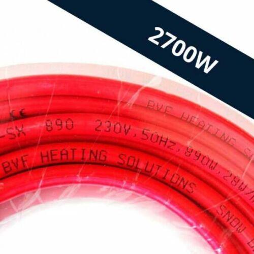 BVF SX 28W/m kültéri fűtőkábel (2700W 96,4m)