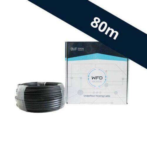 BVF WFD 10W/m fűtőkábel (80 m)