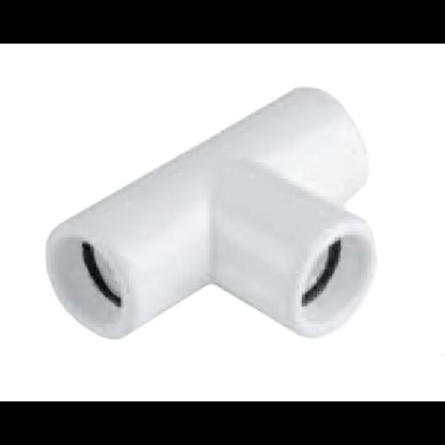 CONTURT20 Cseppvízcső idom 20mm T egál fehér BBB (kondenzvíz)