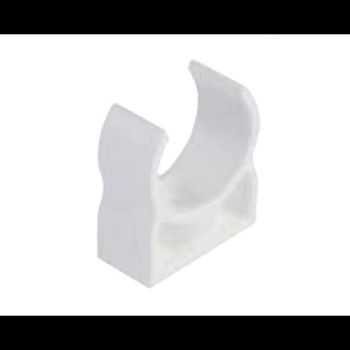 CONTURC20 Cseppvízcső szálas 20mm pattintós bilincs fehér (kondenzvíz)