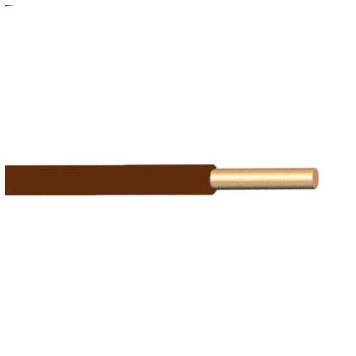 H07V-U (MCU) 1x1,5 mm2 barna vezeték