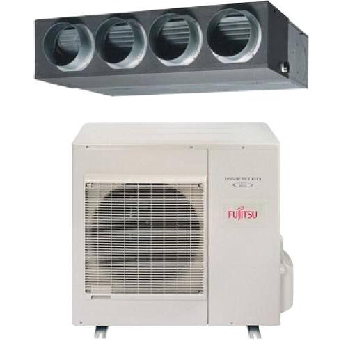 FUJITSU ARYG30LMLE/AOYG30LETL 8,5 kW R410a mono oldalfali légcsatornázható klíma szett