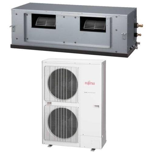 FUJITSU ARYG60LHTA/AOYG60LATT 15 kW R410a mono oldalfali légcsatornázható klíma szett