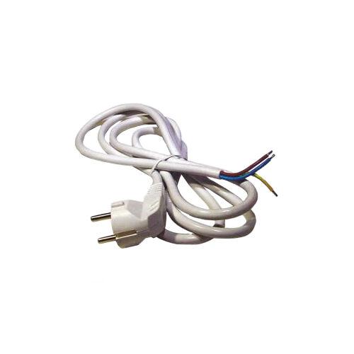 MTK 3x1mm 2fm fehér szerelt vezeték