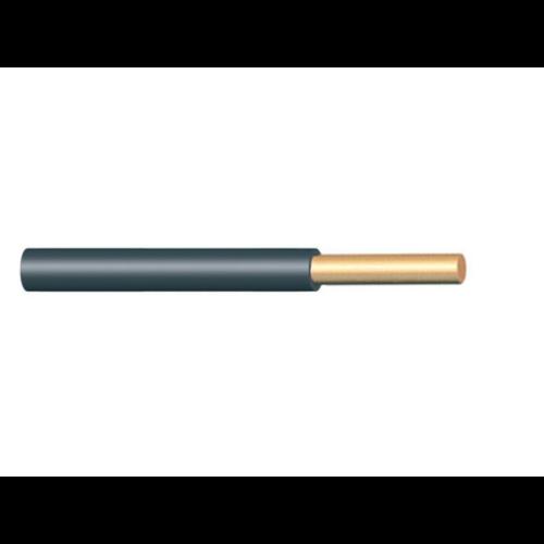 H07V-U (MCU) 1x2,5 mm2 fekete vezeték