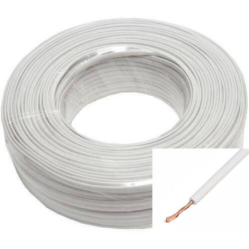 H05V-K (MKH) 1x1 mm2 fehér vezeték