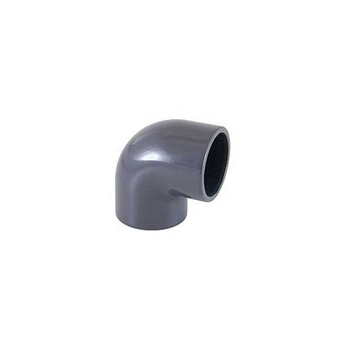 Cseppvízcső könyök 90° idom nyomó PVC 20mm 1/2 (kondenzvíz)
