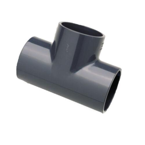 Cseppvízcső T idom nyomó PVC 20 mm 1/2* (kondenzvíz)