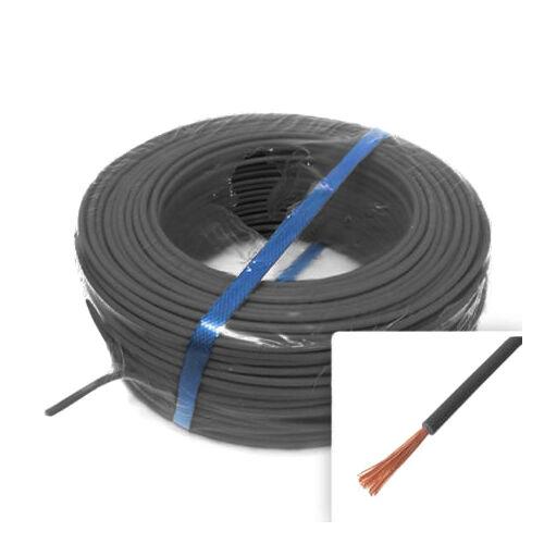 H07V-K (MKH) 1x4mm2 fekete vezeték