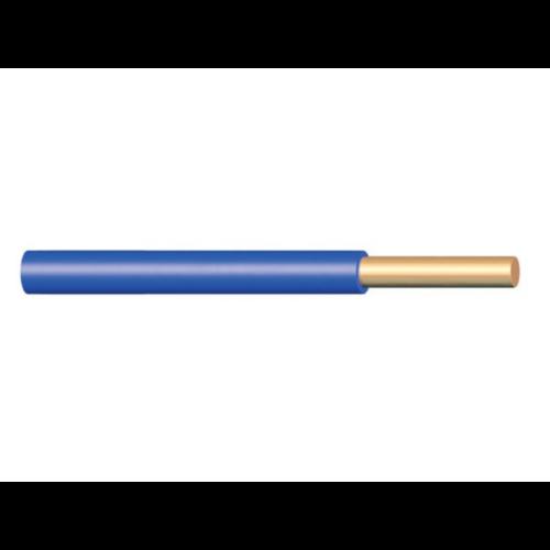 H07V-U (MCU) 1x2,5 mm2 kék vezeték