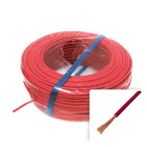 H05V-K (MKH) 1x0,75 mm2 piros vezeték