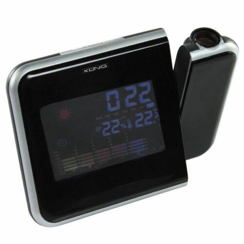 Digitális időjárás állomás KÖNIG KN-WS103 ( hőmérő, páramérő, óra )